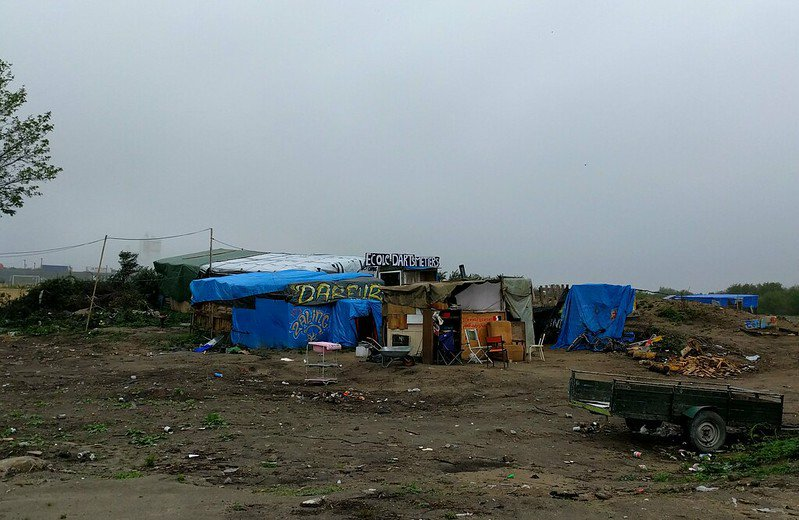 """The Jungle"" in Calais"
