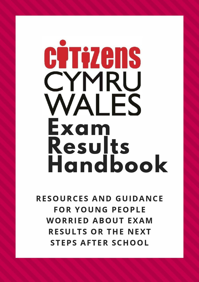 Resources and guidance for young people in Wales who are worried about exam results or the next steps after school