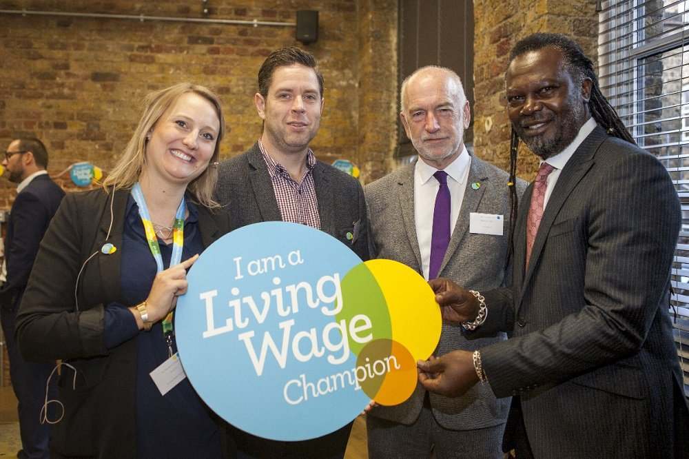 Living Wage with Neil Jamerson group shot