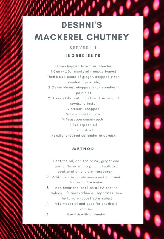 Mackerel Chutney
