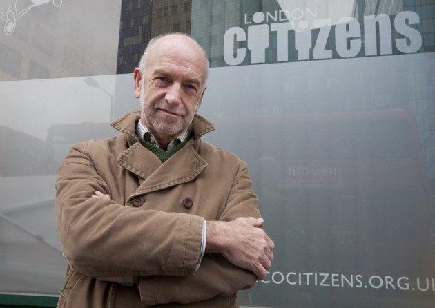 Neil Jameson profile shot with London Citizens