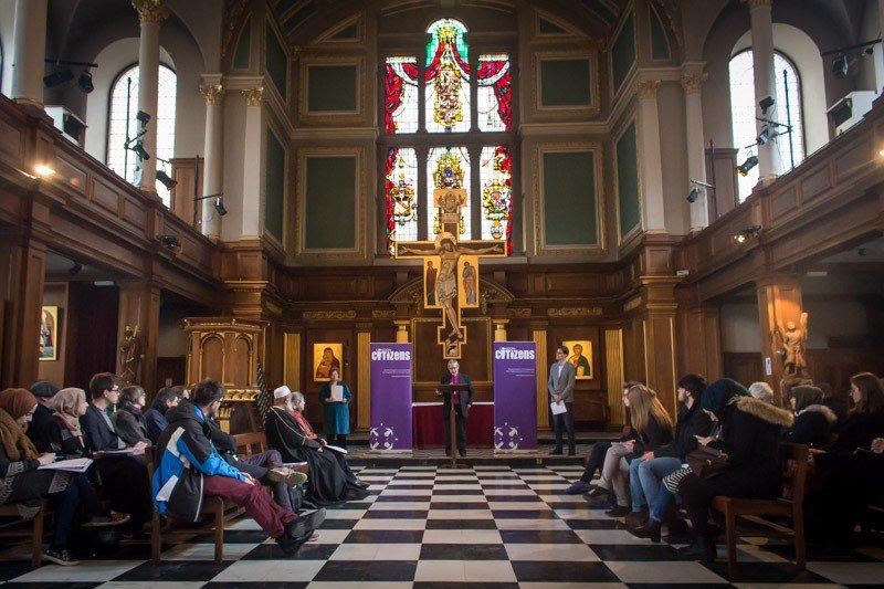 Peter Hill speech with London Citizens