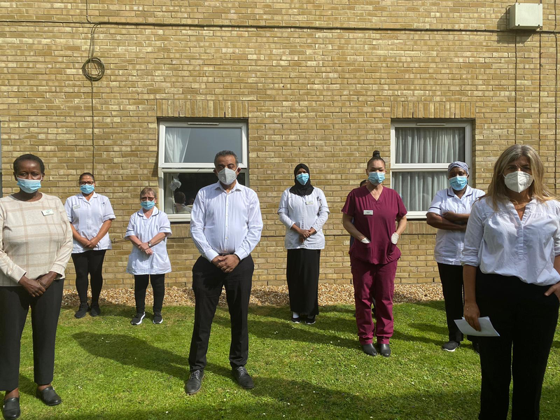 Barnet Citizens take action in support of care workers