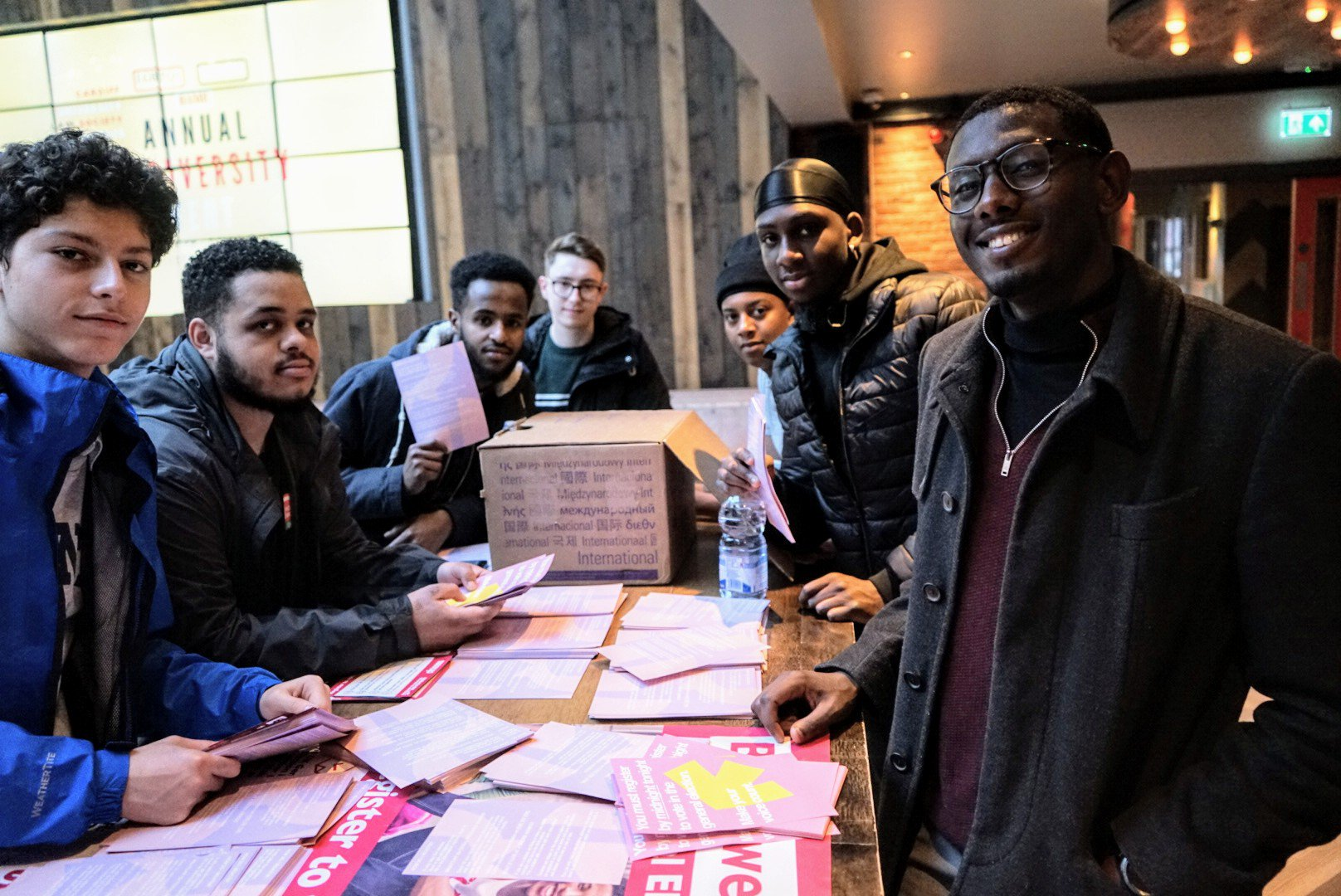 Leaders preparing for a register to vote action in Wales