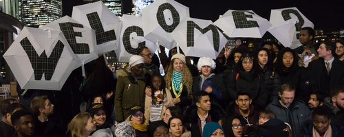 Refugee Welcome action 2019